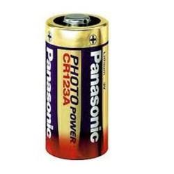 Panasonic® Pile CR123A 3...